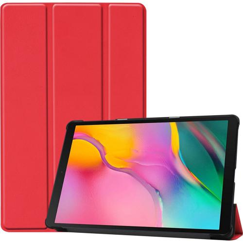 Trifold Bookcase voor de Samsung Galaxy Tab A 10.1 (2019) - Rood