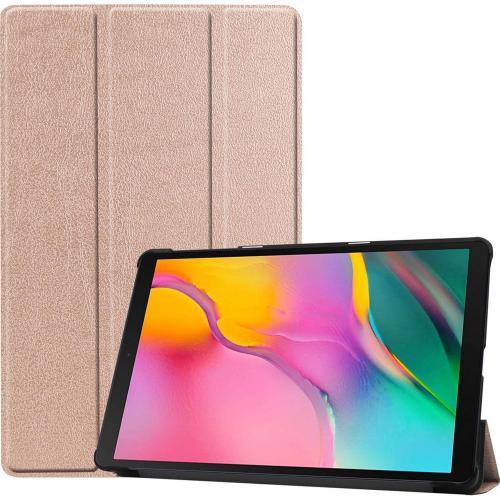 Trifold Bookcase voor de Samsung Galaxy Tab A 10.1 (2019) - Rosé Goud