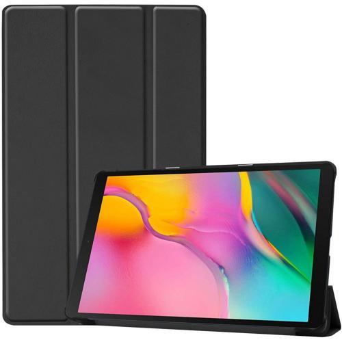 Trifold Bookcase voor de Samsung Galaxy Tab A 10.1 (2019) - Zwart