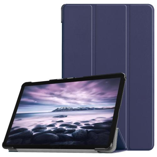 Trifold Bookcase voor de Samsung Galaxy Tab A 10.5 (2018) - Donkerblauw