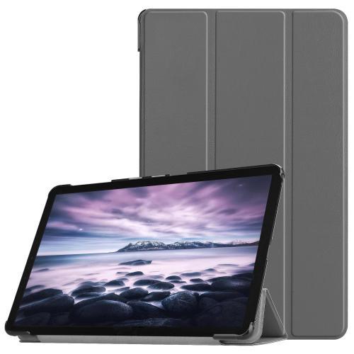 Trifold Bookcase voor de Samsung Galaxy Tab A 10.5 (2018) - Grijs