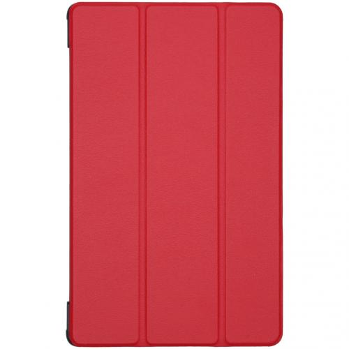 Trifold Bookcase voor de Samsung Galaxy Tab A 10.5 (2018) - Rood