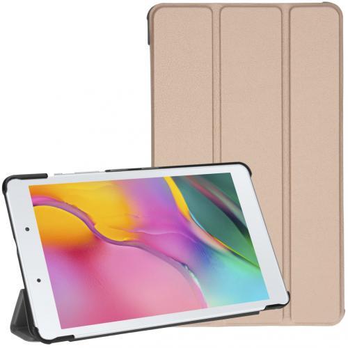 Trifold Bookcase voor de Samsung Galaxy Tab A 8.0 (2019) - Goud