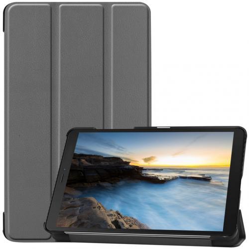 Trifold Bookcase voor de Samsung Galaxy Tab A 8.0 (2019) - Grijs