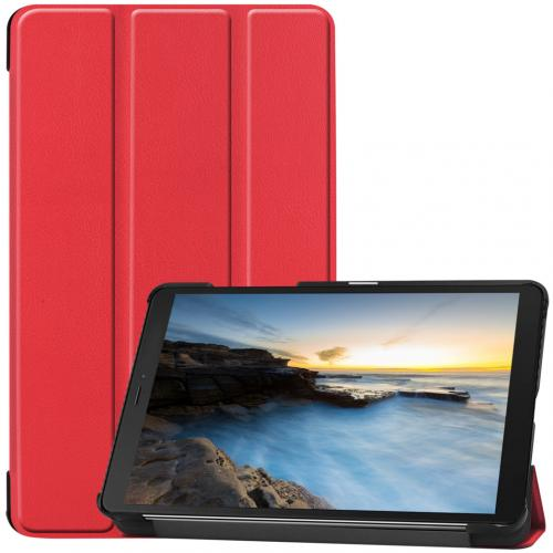 Trifold Bookcase voor de Samsung Galaxy Tab A 8.0 (2019) - Rood