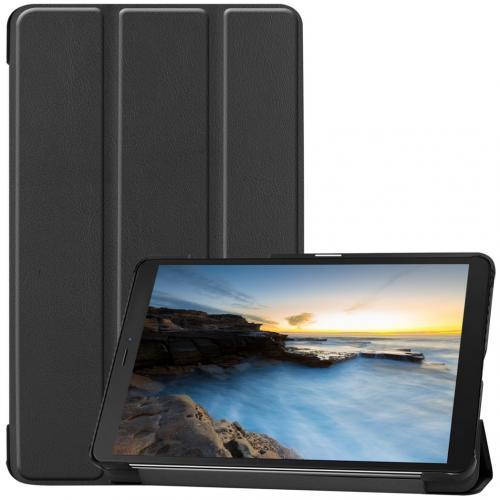 Trifold Bookcase voor de Samsung Galaxy Tab A 8.0 (2019) - Zwart