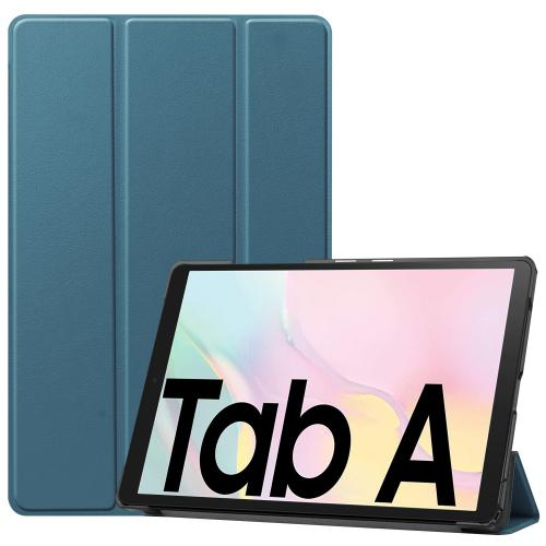 Trifold Bookcase voor de Samsung Galaxy Tab A7 - Donkergroen