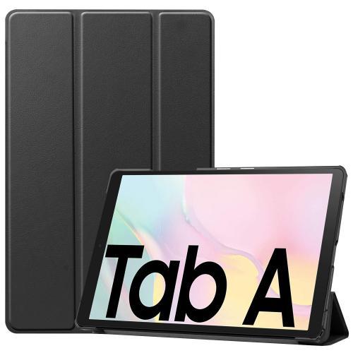 Trifold Bookcase voor de Samsung Galaxy Tab A7 - Zwart