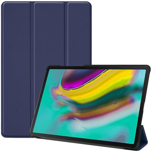 Trifold Bookcase voor de Samsung Galaxy Tab S5e - Donkerblauw