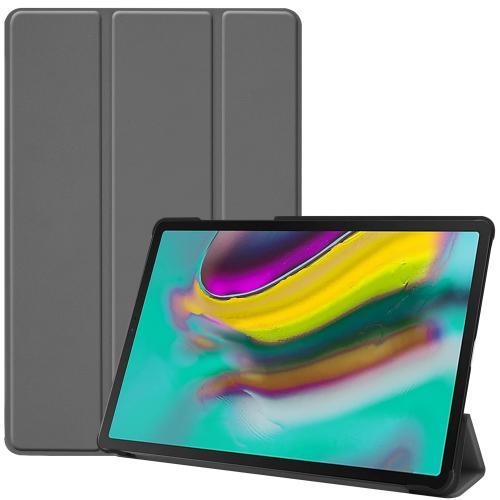 Trifold Bookcase voor de Samsung Galaxy Tab S5e - Grijs