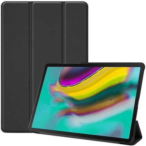 Trifold Bookcase voor de Samsung Galaxy Tab S5e - Zwart