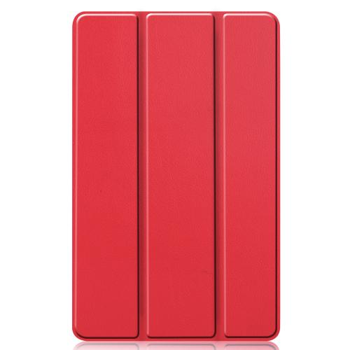 Trifold Bookcase voor de Samsung Galaxy Tab S6 Lite - Rood