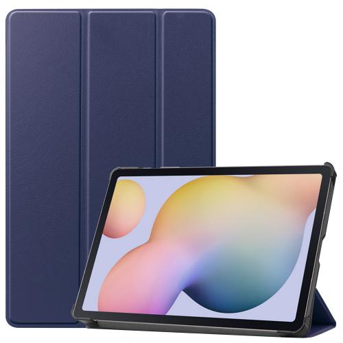 Trifold Bookcase voor de Samsung Galaxy Tab S7 - Donkerblauw