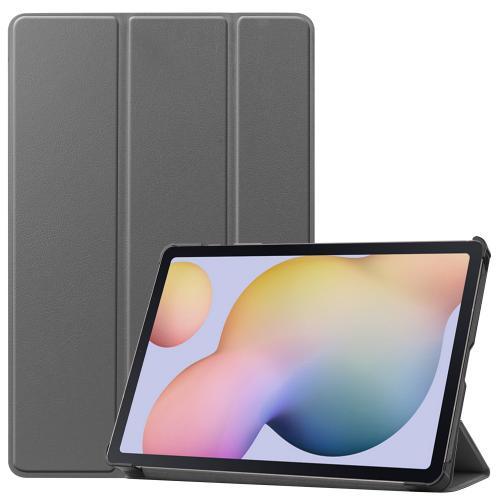 Trifold Bookcase voor de Samsung Galaxy Tab S7 - Grijs