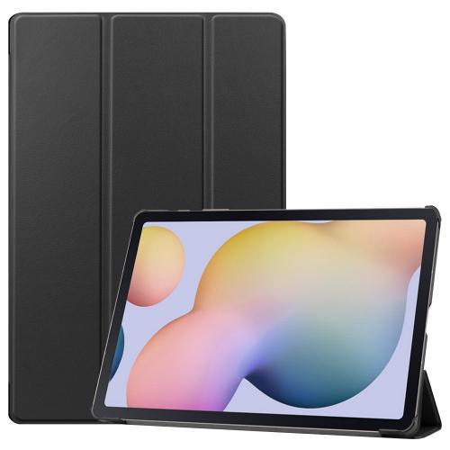 Trifold Bookcase voor de Samsung Galaxy Tab S7 Plus - Zwart