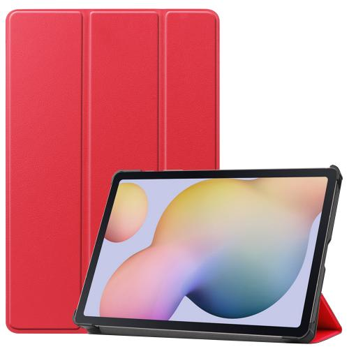 Trifold Bookcase voor de Samsung Galaxy Tab S7 - Rood