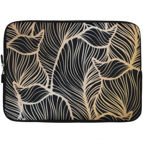 Universele design sleeve 13 inch - Golden Leaves