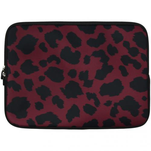 Universele design sleeve 13 inch - Panther Red