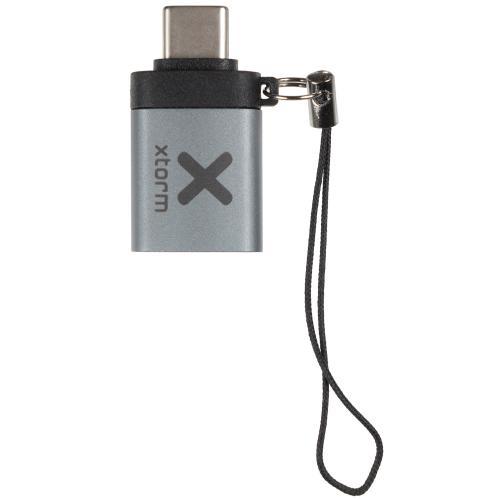 USB naar USB-C adapter - Grijs