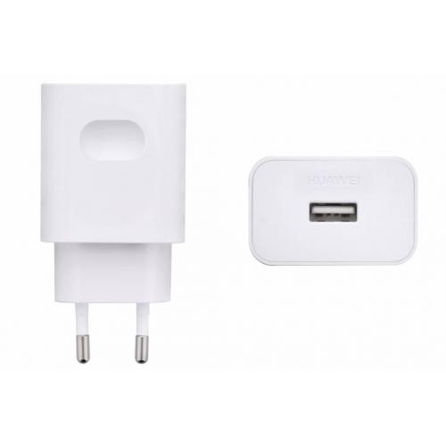 Witte Adapter + Micro-USB naar USB kabel - 2 ampère