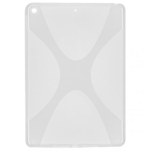 X-line Backcover voor de iPad 10.2 - Transparant