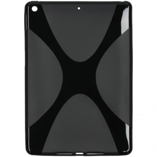 X-line Backcover voor de iPad 10.2 - Zwart