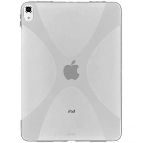 X-line Backcover voor iPad Pro 11 - Transparant