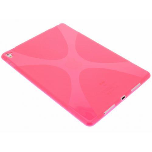 X-line Backcover voor iPad Pro 9.7 - Fuchsia