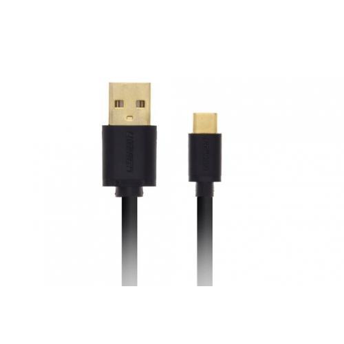 Zwarte Micro-USB naar USB-kabel 1 meter