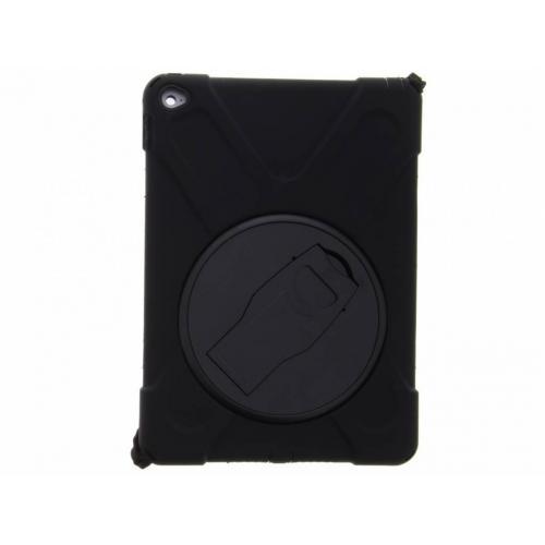 Zwarte ruggedized tablethoes met draagband voor de iPad Air 2